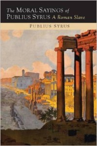 Moral Sayings of Publius